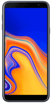 Samsung Galaxy J4 Plus Negro vista frontal