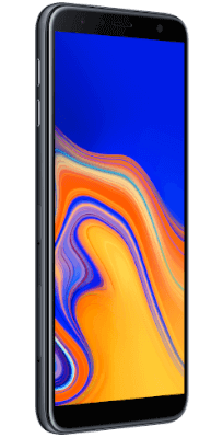 Samsung Galaxy J4 Plus Negro vista lateral