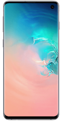 Samsung Galaxy S10 White Frontal