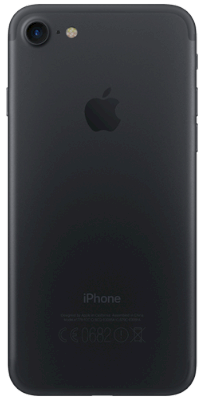 iPhone 7 32 GB Negro vista posterior