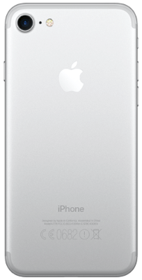 iPhone 7 32 GB Silver vista posterior