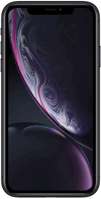 iPhone XR Negro vista frontal