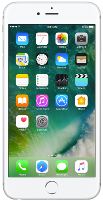 iPhone 6S 32 GB Silver vista frontal