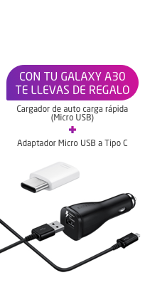 Equipo Samsung A30 Black